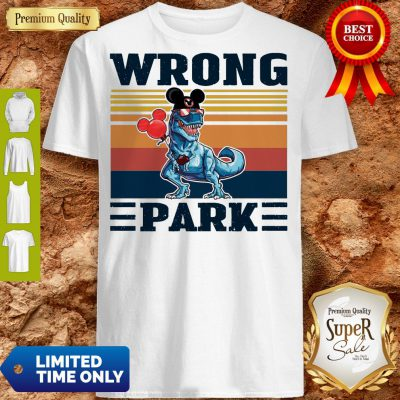 Funny Dinosaur T Rex Mickey Wrong Park Vintage Shirt