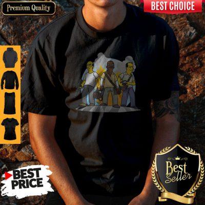 Funny Trevor Franklin And Michael GTA V Simpsonized Shirt
