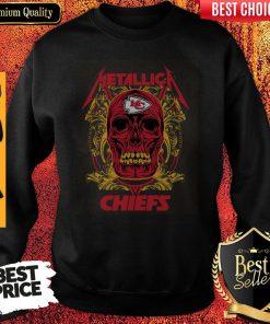 Nice Skull Metallica Kansas City Chiefs Sweatshirt