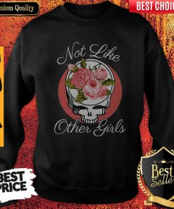 Nice Skull Not Like Other Girls Sweatshirt