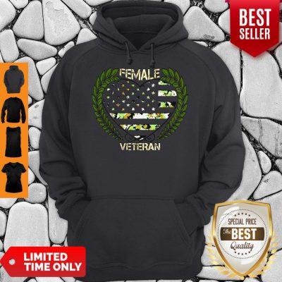 Official Female Veteran Hoodie