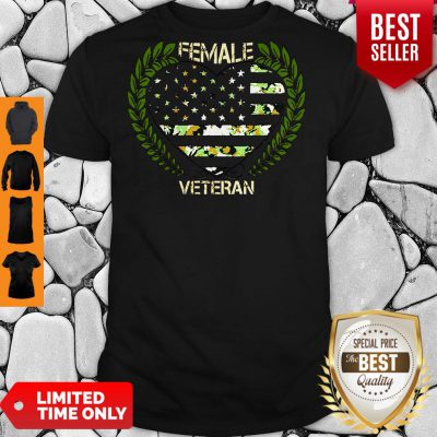 Official Female Veteran Shirt