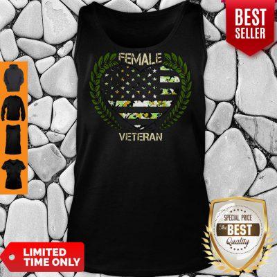 Official Female Veteran Tank Top