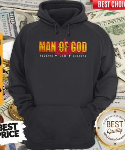 Official Man Of God Husband Dad Grandpa Hoodie