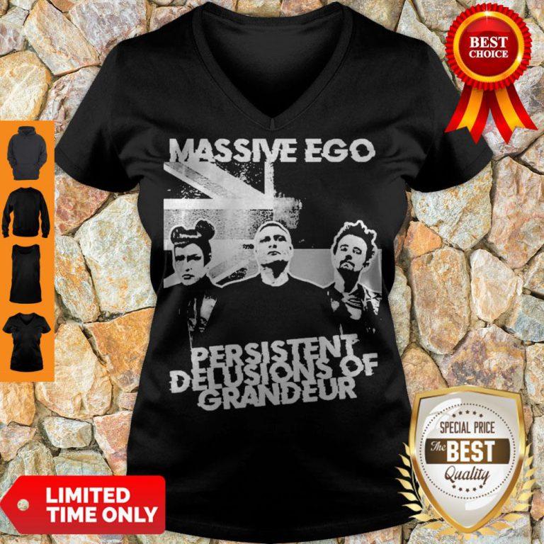 Official Massive Ego Persistent Delusions Of Grandeur V-neck