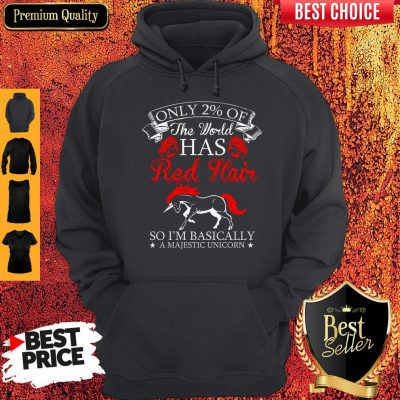 Official Red Hair Majestic Unicorn Hoodie
