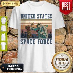 Premium Alien United States Space Force Vintage Shirt