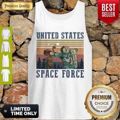 Premium Alien United States Space Force Vintage Tank Top