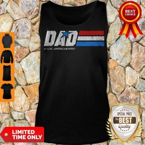 Premium Dad Real American Hero Tank Top
