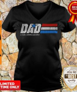 Premium Dad Real American Hero V-neck