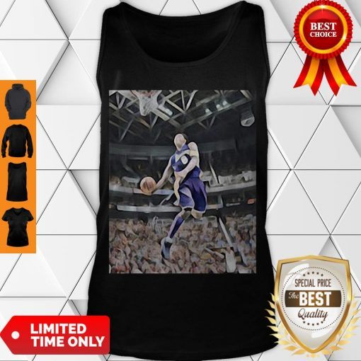 Premium Kobe Bryant Playing Basketball Tank Top