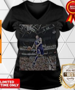 Premium Kobe Bryant Playing Basketball V-neck