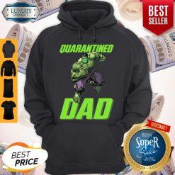 Premium Marvel Super Hulk Face Mask Quarantined Dad Hoodie