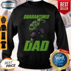 Premium Marvel Super Hulk Face Mask Quarantined Dad Sweatshirt