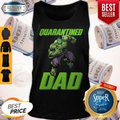 Premium Marvel Super Hulk Face Mask Quarantined Dad Tank Top
