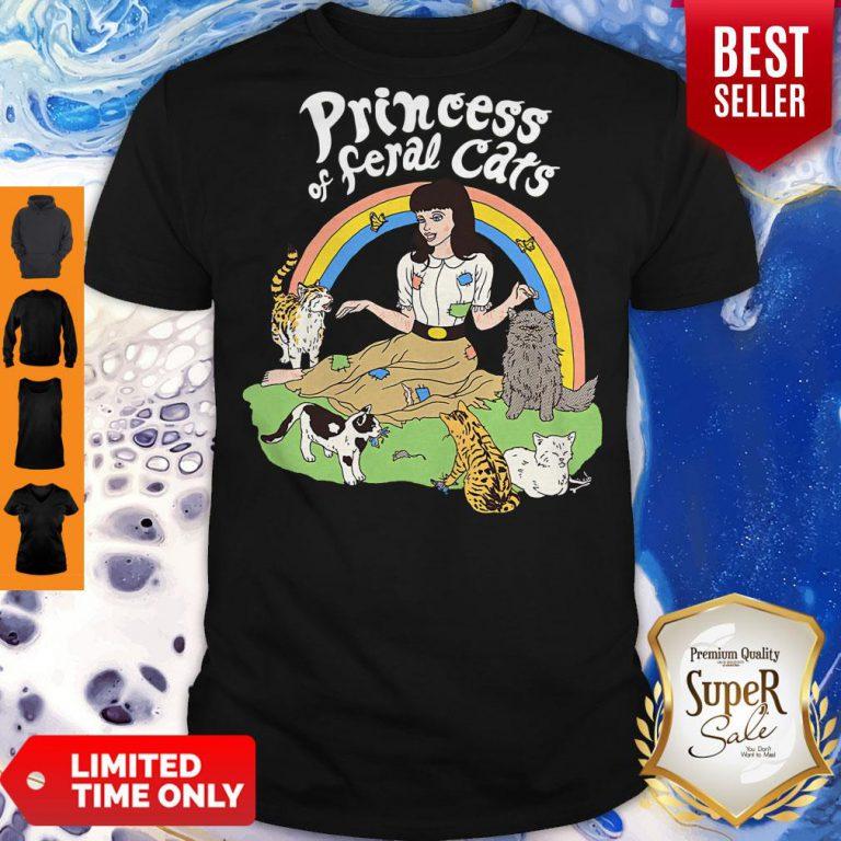 Pretty Princess Of Feral Cats Shirt