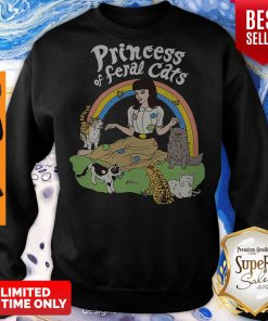 Pretty Princess Of Feral Cats Sweatshirt