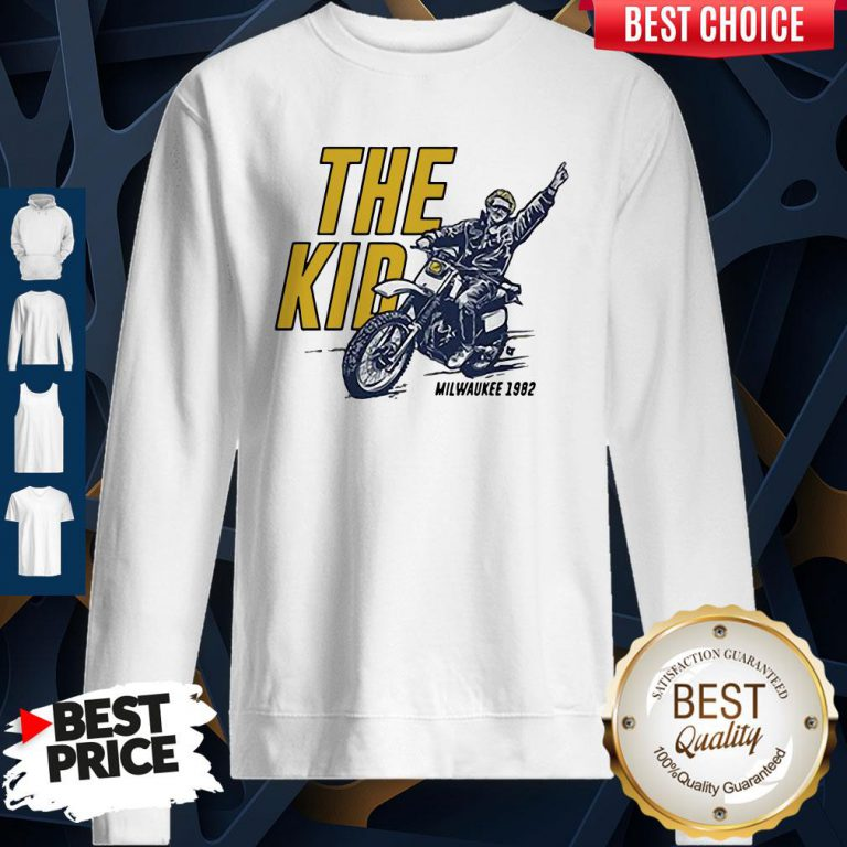 Pretty Robin Yount The Kid Milwaukee 1982 Sweatshirt
