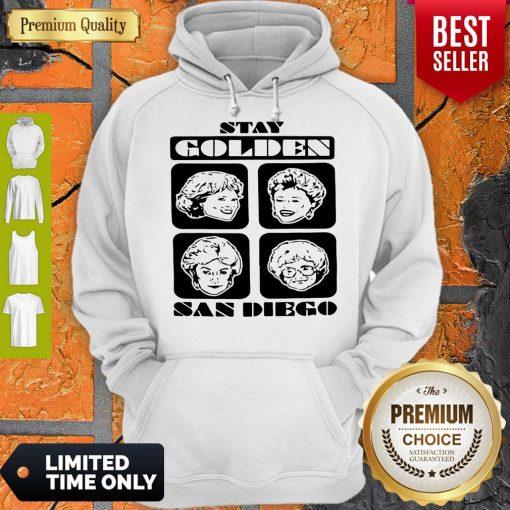 Pretty Stay Golden San Diego Hoodie