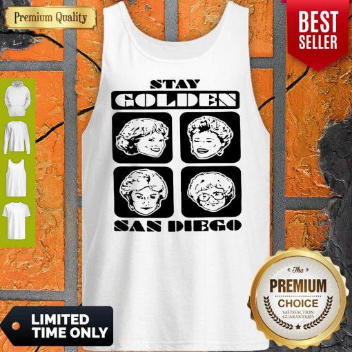 Pretty Stay Golden San Diego Tank Top