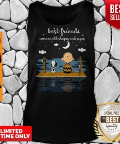 Snoopy And Peanut Best Friends Come In All Shapes And Sizes Tank Top