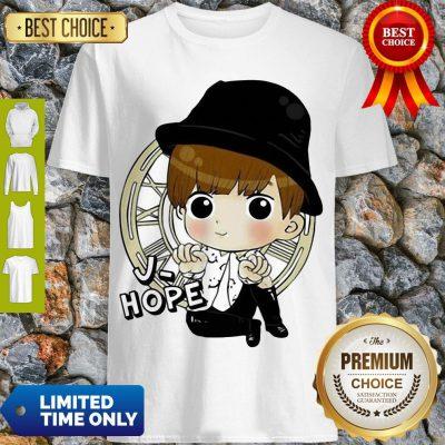 Top Bts Bangtan Boy Same Cartoon J Hope V Rap Monster Shirt