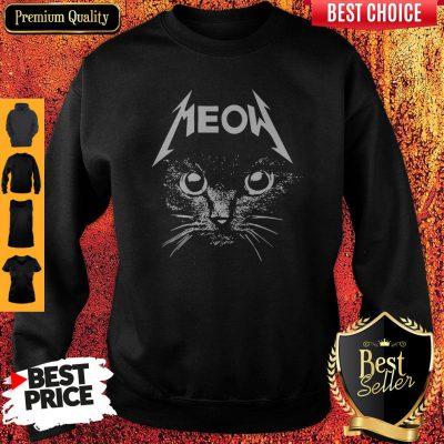 Top Cat Lover Meow Sweatshirt