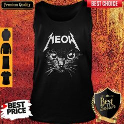 Top Cat Lover Meow Tank Top