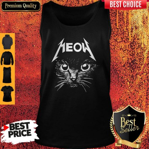 Top Cat Lover Meow Tank Top