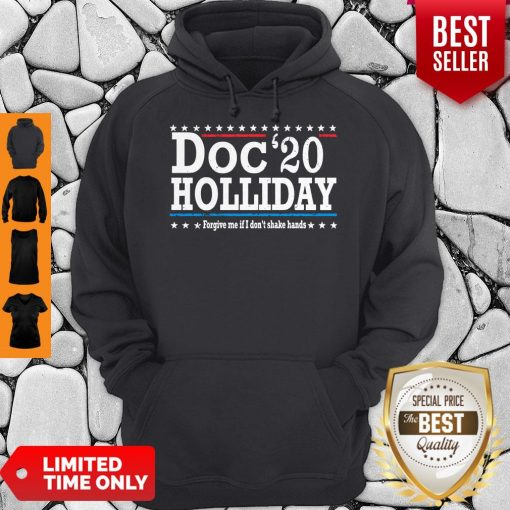 Top Doc'20 Holliday Forgive Me If I Don't Shake Hands Hoodie
