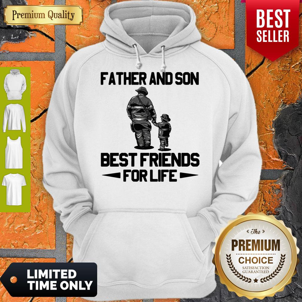 Top Father And Son Riding Partners For Life Hoodie