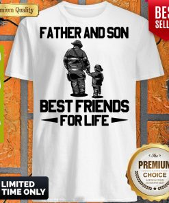 Top Father And Son Riding Partners For Life Shirt