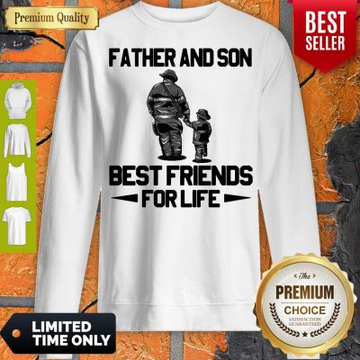 Top Father And Son Riding Partners For Life Sweatshirt