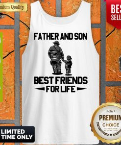 Top Father And Son Riding Partners For Life Tank Top
