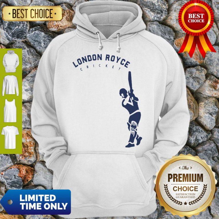 Top London Royce Cricket Baseball Hoodie