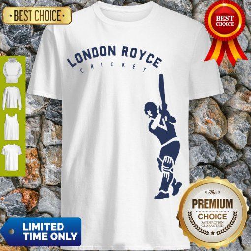 Top London Royce Cricket Baseball Shirt