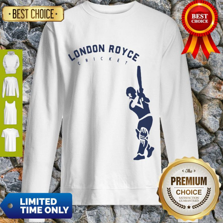 Top London Royce Cricket Baseball Sweatshirt