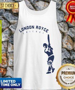Top London Royce Cricket Baseball Tank Top