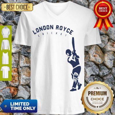 Top London Royce Cricket Baseball V-neck