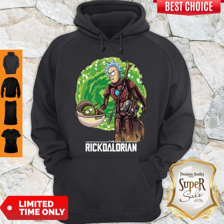 Top Rick And Morty The Rickdalorian Hoodie