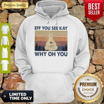 Top Sheep Yoga Eff You See Kay Why Oh You Vintage Hoodie