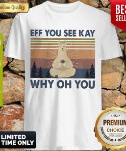 Top Sheep Yoga Eff You See Kay Why Oh You Vintage Shirt