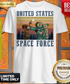 Top United States Space Force Vintage Shirt