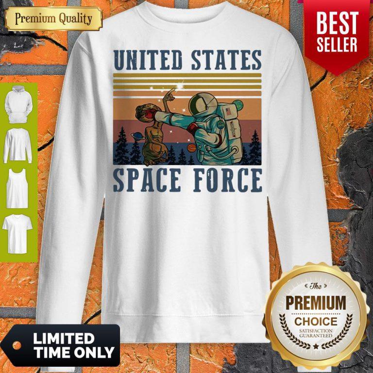Top United States Space Force Vintage Sweatshirt