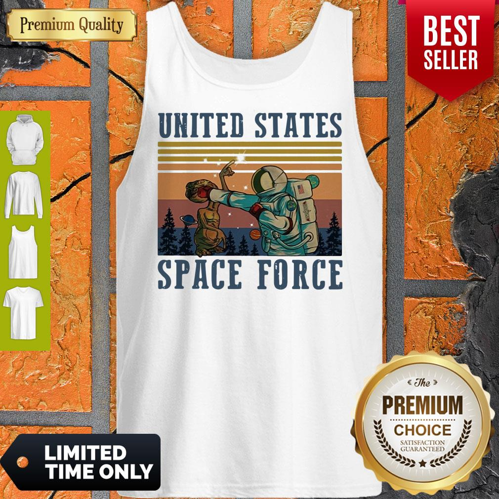 Top United States Space Force Vintage Tank Top