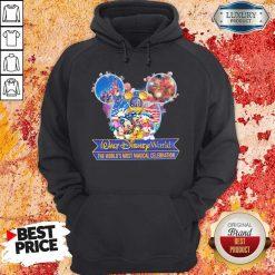 50th Anniversary Walt Disney World the World's Most Magical Celebration Hoodiea