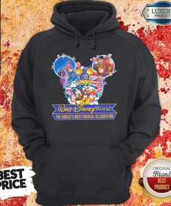 50th Anniversary Walt Disney World the World's Most Magical Celebration Hoodiea
