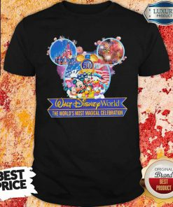 50th Anniversary Walt Disney World the World's Most Magical Celebration Shirt