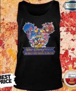 50th Anniversary Walt Disney World the World's Most Magical Celebration Tank Top