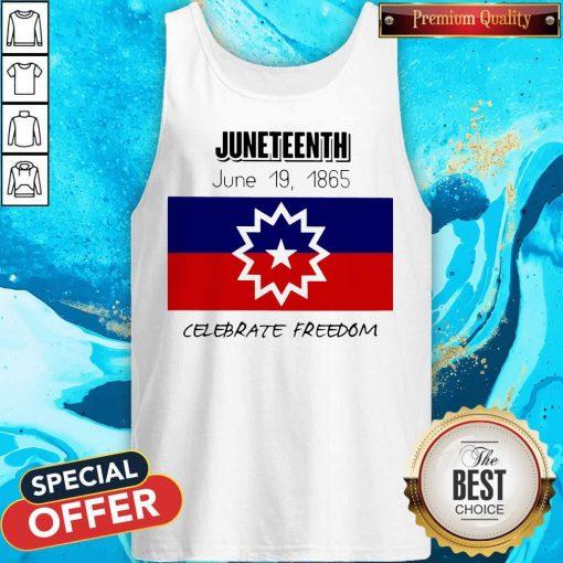 juneteenth-june-19-1865-celebrate-freedom-Tank Top